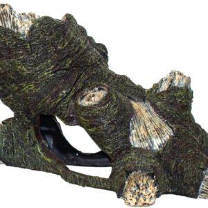 Holle boomstam liggend